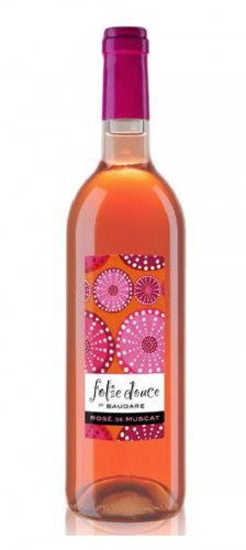 vin rosé doux,muscat,100%,apéritif,dessert