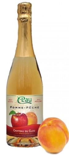 Chateau DU CLAU - Petillant PommePeche.jpg